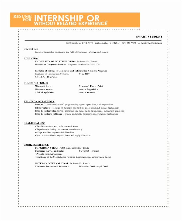 Resumes for College Freshmen Awesome Sample Resume for College Student 10 Examples In Word Pdf