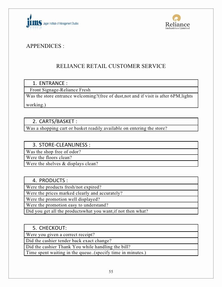 Retail Store Checklist Template Best Of Retail Store Visit Checklist Template