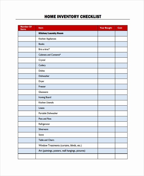 Retail Store Checklist Template Lovely Sample Checklist Template 43 Free Documents Download In Pdf Word