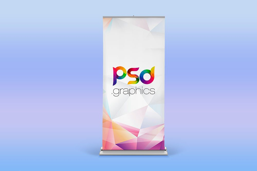 Retractable Banner Design Templates Fresh Download This Free Roller Banner Mockup In Psd Desinghooks