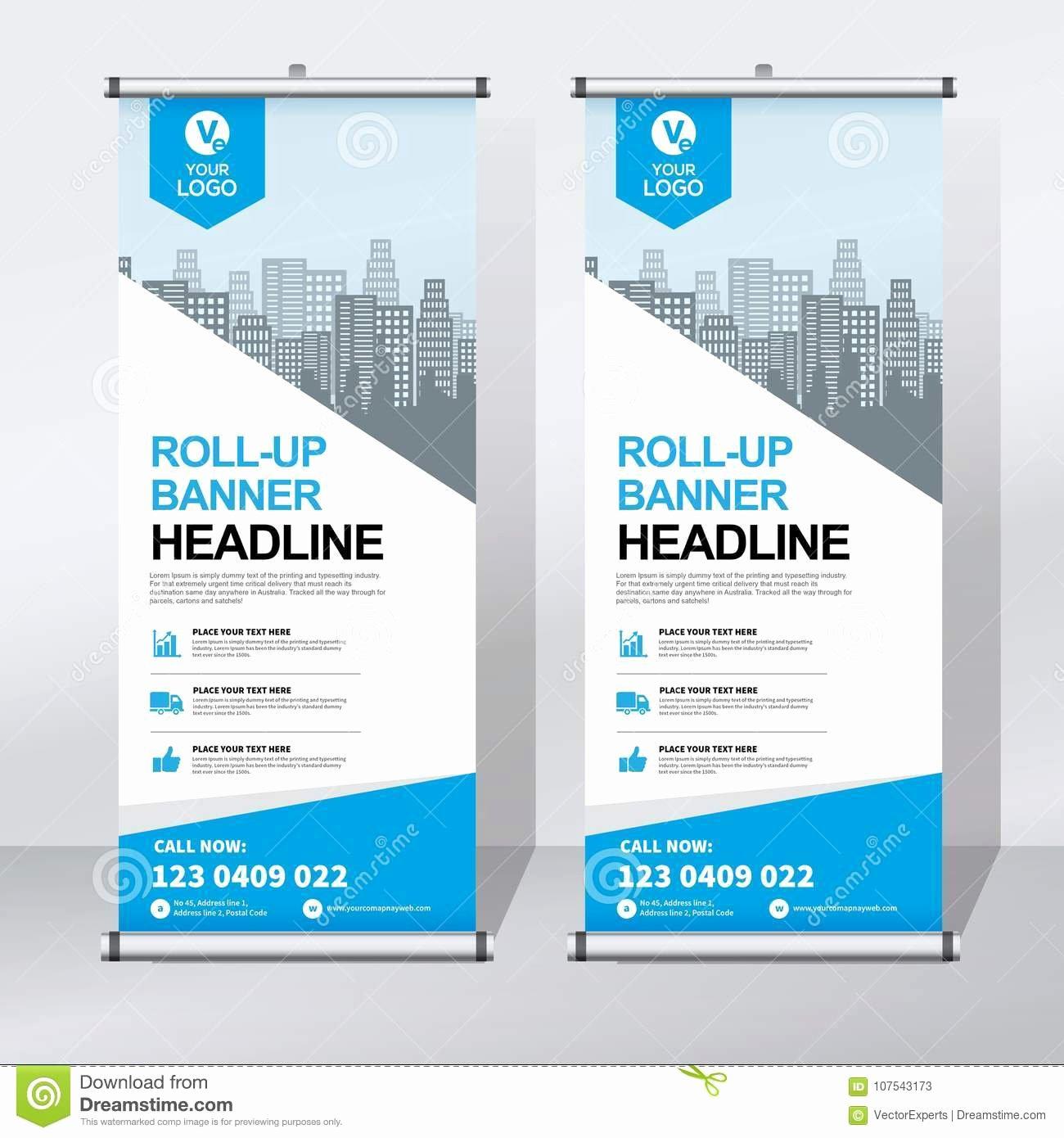 Retractable Banner Design Templates Inspirational Roll Up Banner Design Template Vertical Abstract Background Pull Up Design Modern X Banner