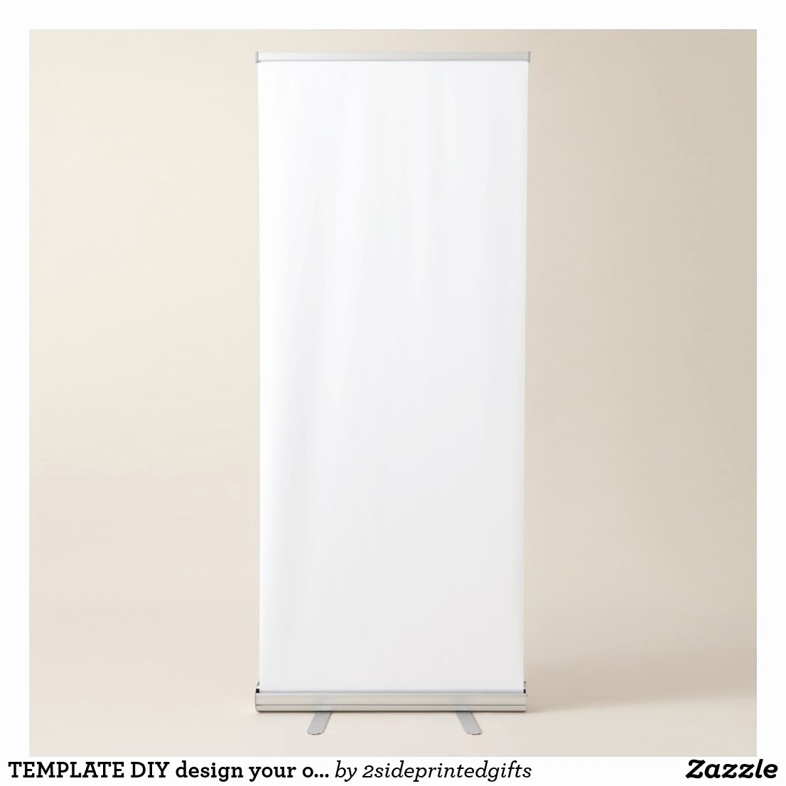Retractable Banner Design Templates Unique Template Diy Design Your Own Add Photo Text Retractable Banner