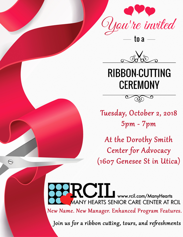 Ribbon Cutting Invitation Templates Beautiful Ribbon Cutting for Many Hearts Senior Care Center at Rcil