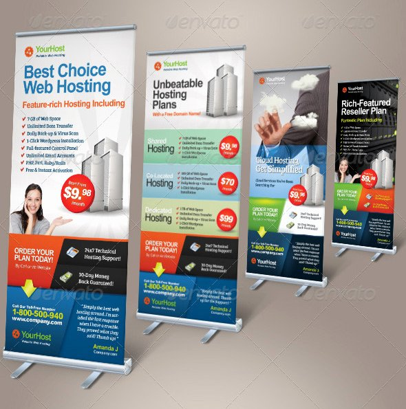 Roll Up Banner Design Beautiful 30 Nice Banner Signage Templates Psd – Design Freebies