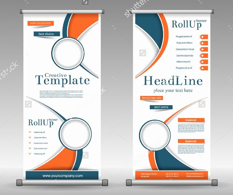 Roll Up Banner Design Beautiful 37 Roll Up Banner Designs for Your Advertising Needs Psd Ai