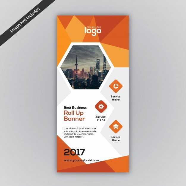 Roll Up Banner Design Beautiful Roll Up Banner Vectors S and Psd Files
