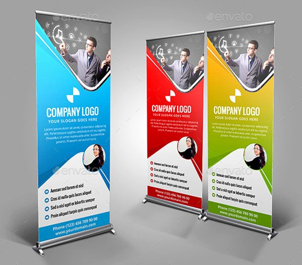 Roll Up Banner Design Lovely Inspiring Signage Templates with Print Ready Files