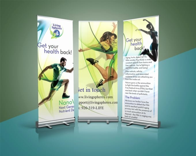 Roll Up Banner Design Unique Do Epic Roll Up Banner Design by Emerchant