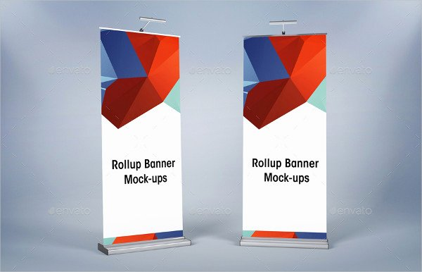 Roll Up Banner Mockup Awesome Roll Up Mock Up 9 Free Psd Vector Ai Eps format Download