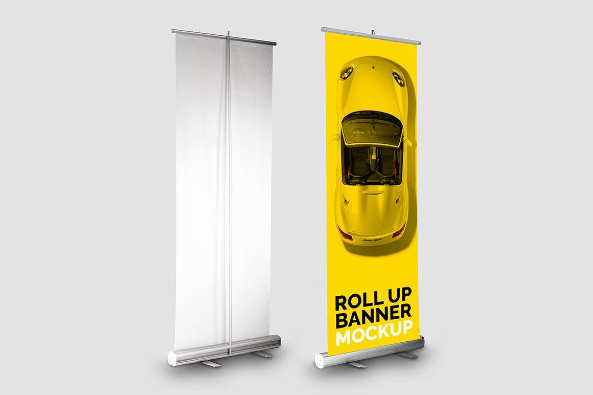 Roll Up Banner Mockup Fresh Roll Up Banner Mockup – Mockupslib