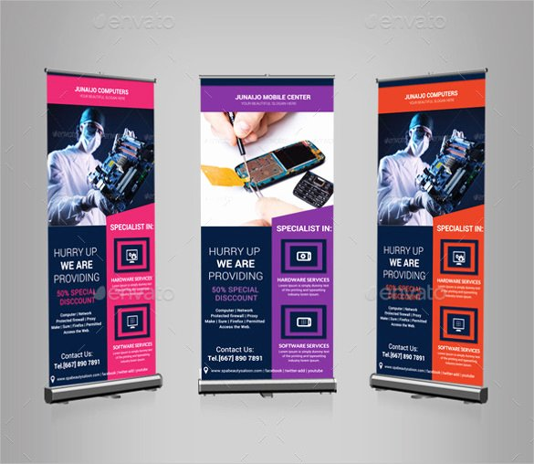 Roll Up Banner Template Fresh 36 Rollup Banner Templates Psd Illustrator