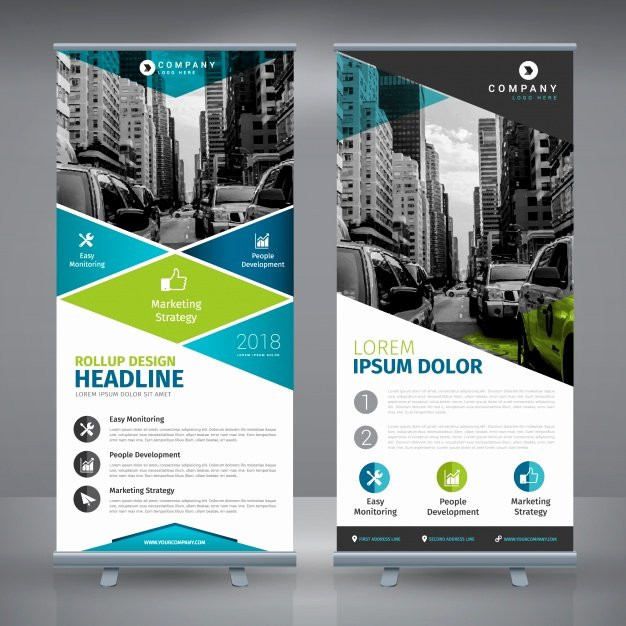 Roll Up Banner Template Fresh Roll Up Vectors S and Psd Files