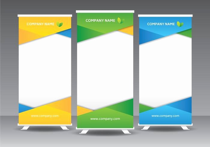 Roll Up Banner Template Lovely Corporate Roll Up Banner Template Download Free Vectors Clipart Graphics & Vector Art