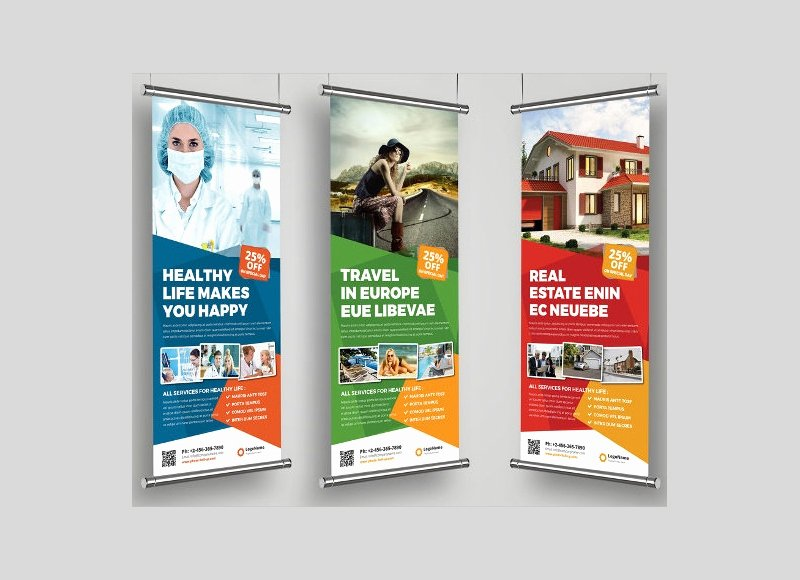 Roll Up Banners Designs Awesome 37 Roll Up Banner Designs for Your Advertising Needs Psd Ai