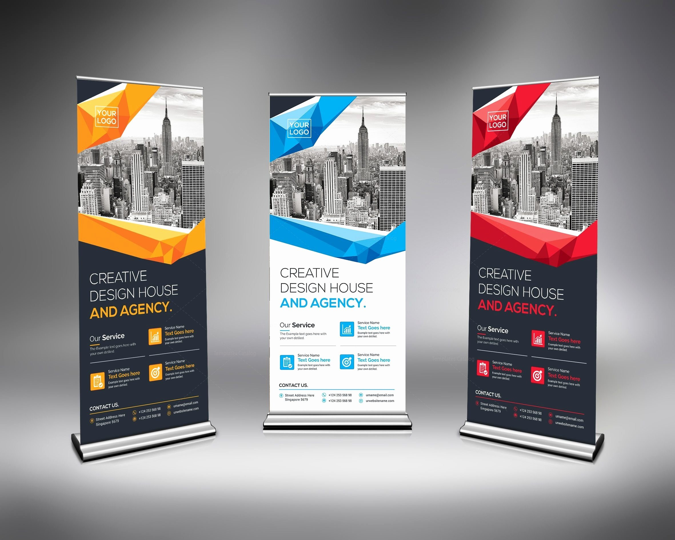 Roll Up Banners Designs Beautiful Excellent Rollup Banner Template Template Catalog