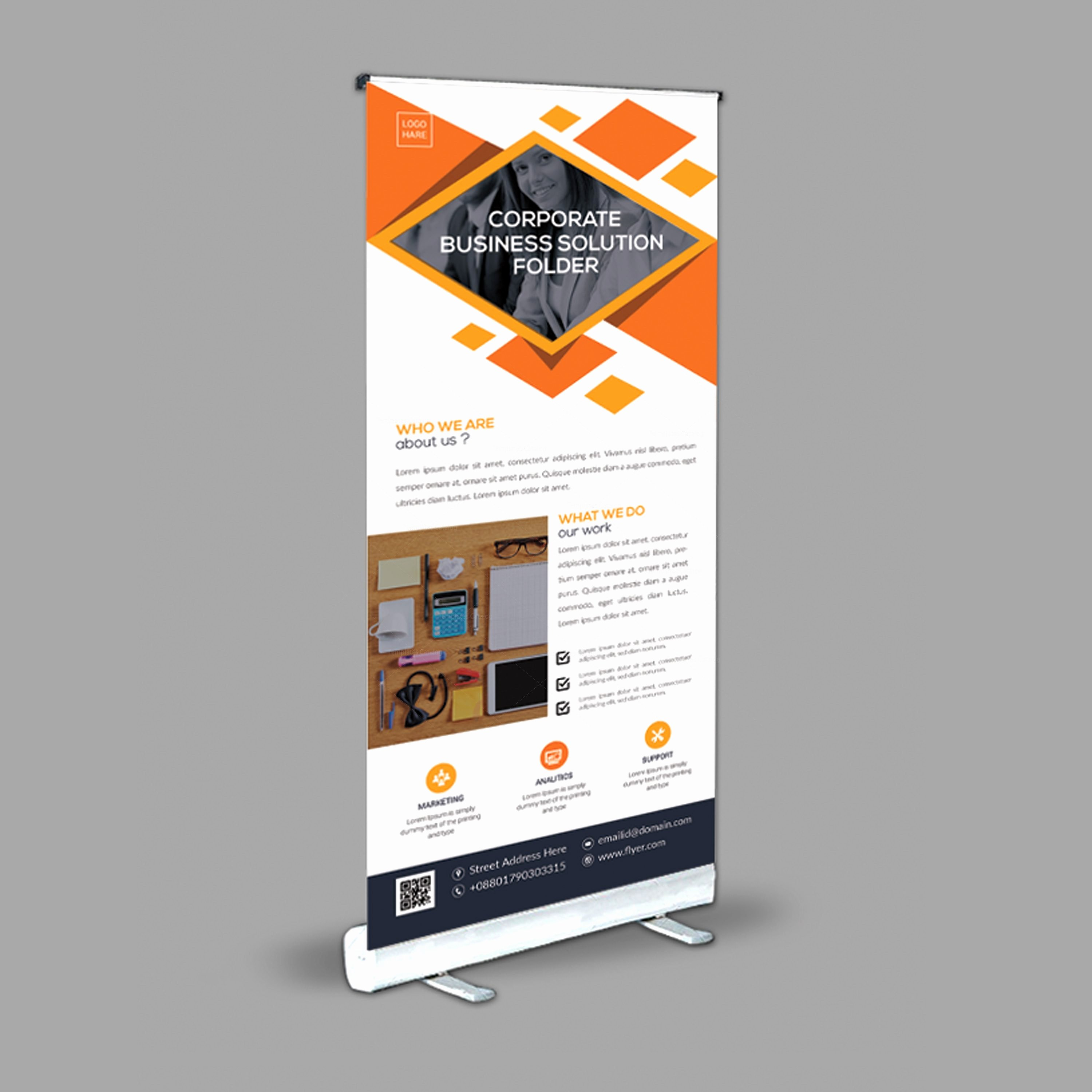 Roll Up Banners Designs Elegant Stylish Roll Up Banner Design Template Template Catalog