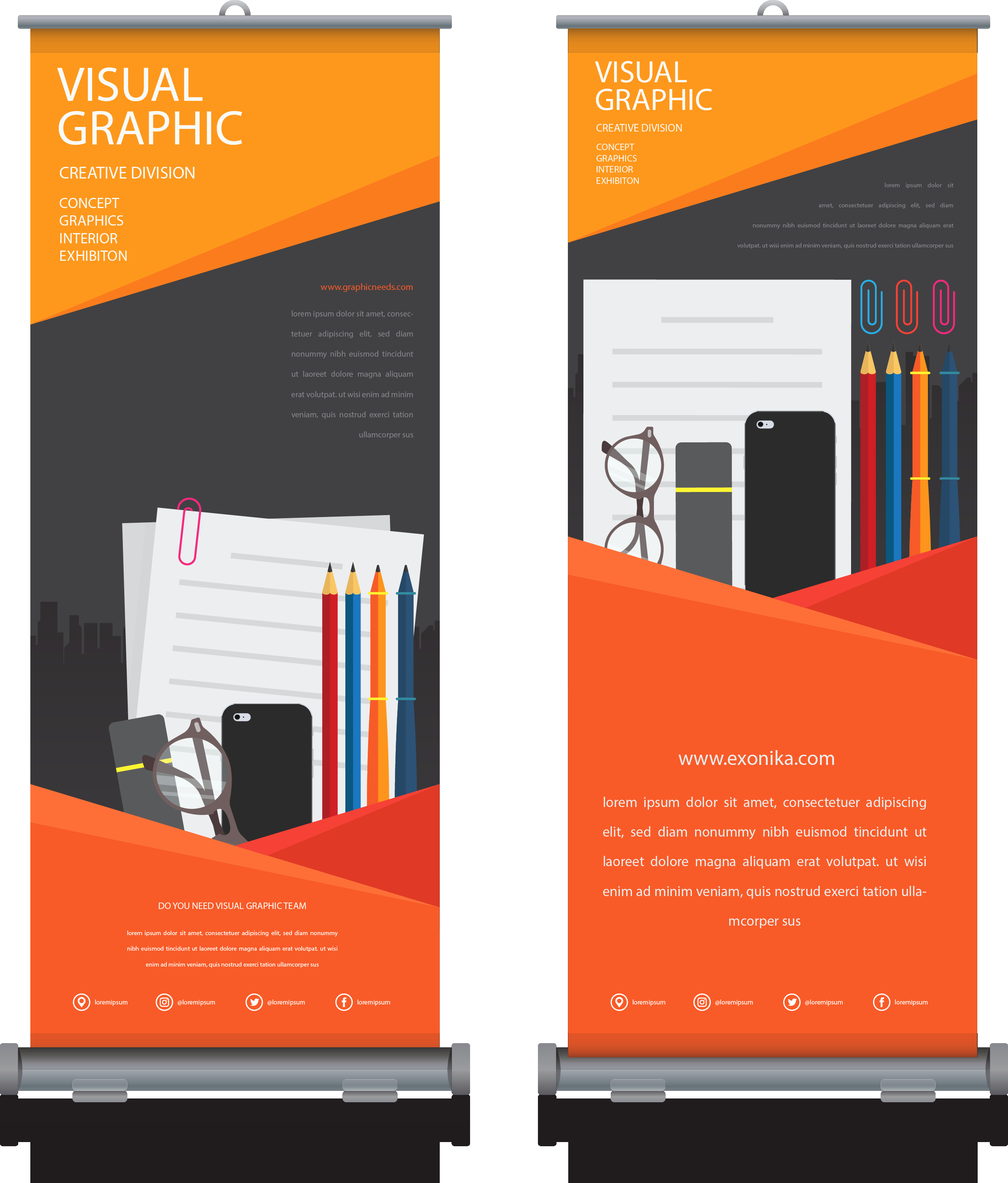 Roll Up Banners Designs Fresh Pull Up Banners Full Colour Single Sided Exonika