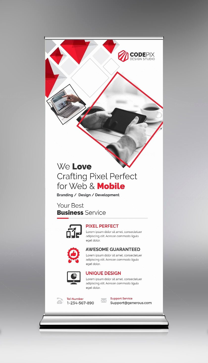 Roll Up Banners Designs Lovely Red Roll Up Banner Design Template Template Catalog