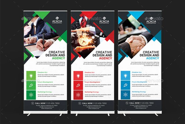 Roll Up Banners Designs Luxury 20 Professional Roll Up Banners & Signage Templates