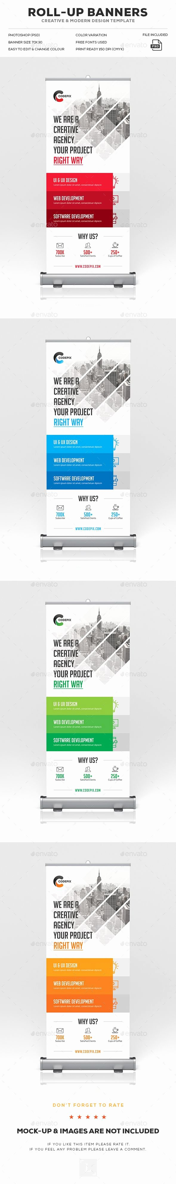 Roll Up Banners Template Inspirational Roll Up Banner