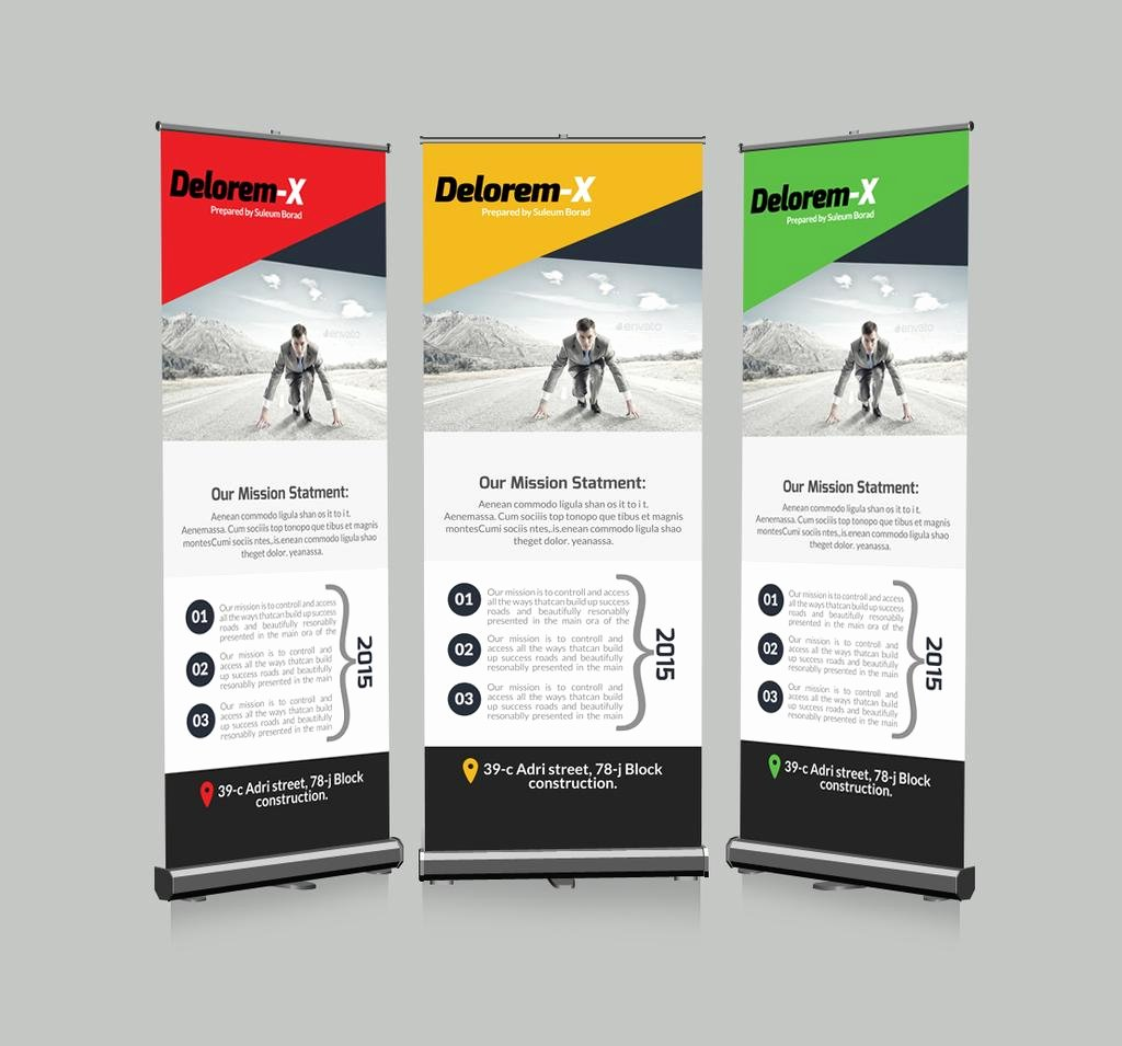 Roll Up Banners Template New Roll Up Business Banners Template by Designhub719 On