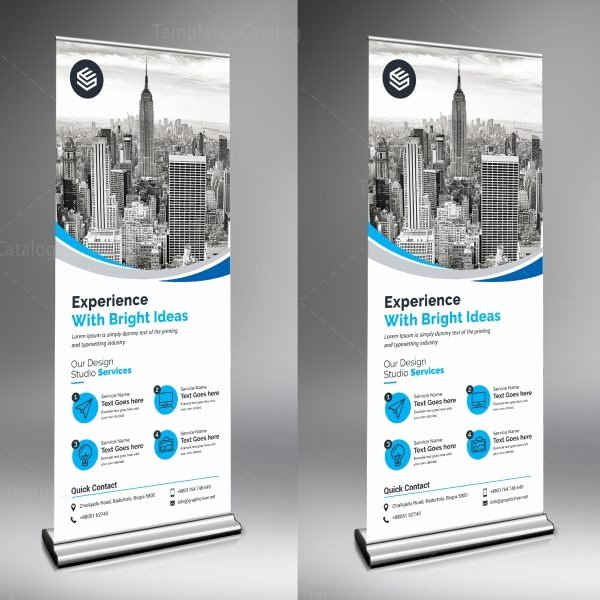 Roll Up Banners Template Unique Rigel Creative Roll Up Banner Template Template