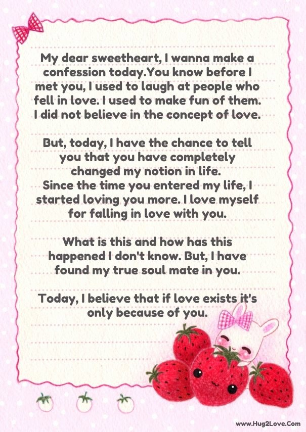 Romantic Letters for Girlfriend New Cute Love Letters for Her From the Heart