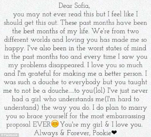 Romantic Letters for Girlfriend Unique Damell Mickens the touching Love Letter A Teen Wrote to