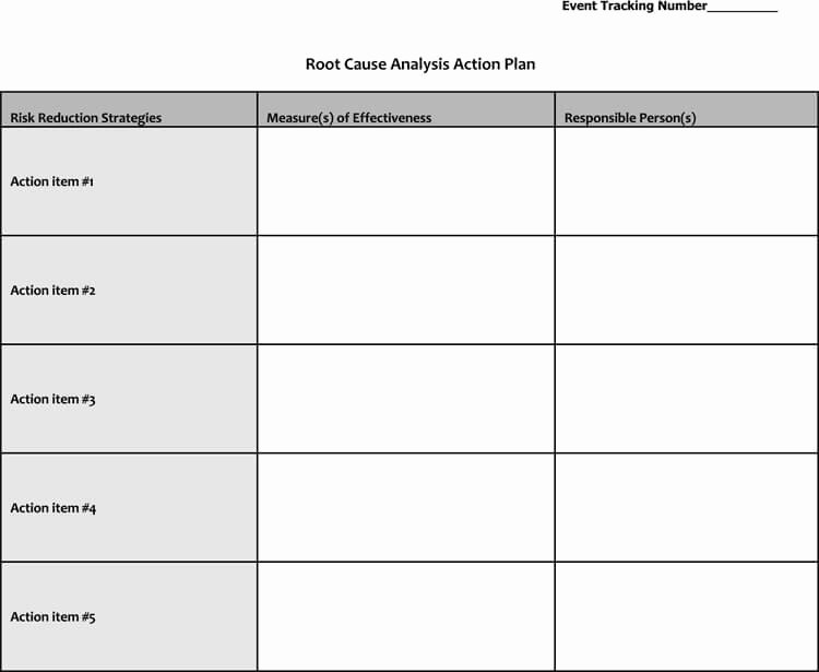 Root Cause Analysis Excel Template Beautiful 24 Root Cause Analysis Templates Word Excel Powerpoint