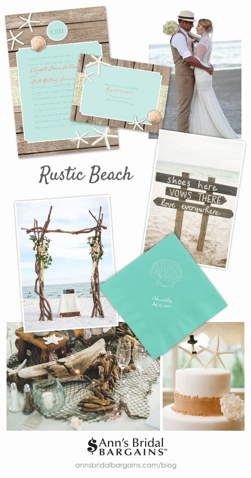 Rustic Beach Wedding Invitations Awesome Get This Look Rustic Beach