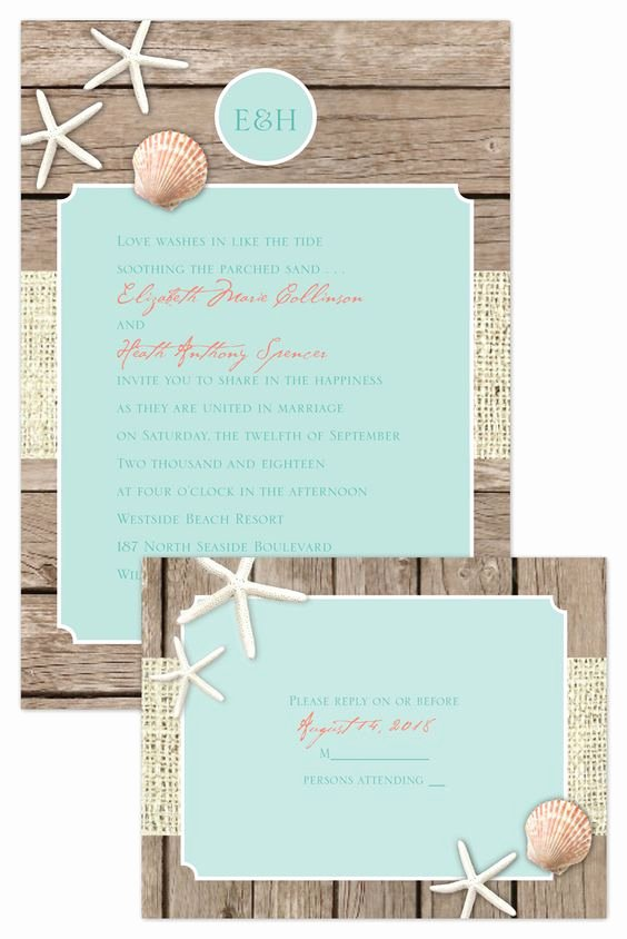Rustic Beach Wedding Invitations Beautiful How to Plan A Beach themed Wedding Ceremony Best Tips