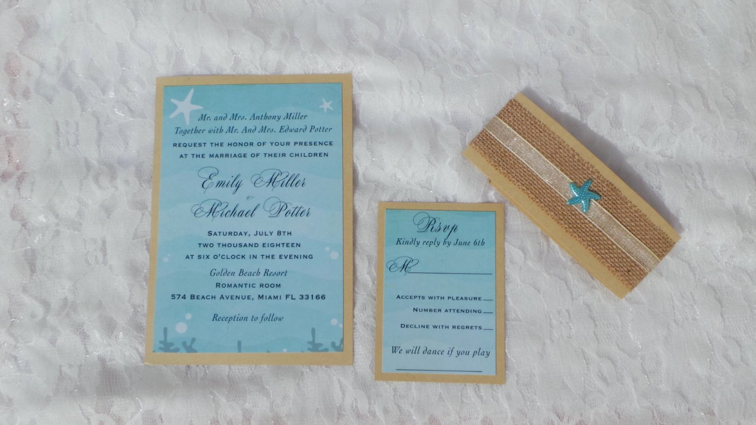 Rustic Beach Wedding Invitations Inspirational 30 Rustic Beach Wedding Invitations Vintage Burlap Set – Pink the Cat