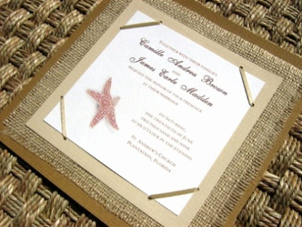 Rustic Beach Wedding Invitations New Seal and Send Beach Wedding Invitations to Set the tone for Your Beach theme Weddings