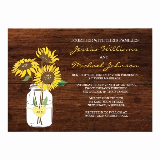 Rustic Sunflower Wedding Invitations Elegant 5 000 Sunflower Wedding Invitations Sunflower Wedding Announcements & Invites