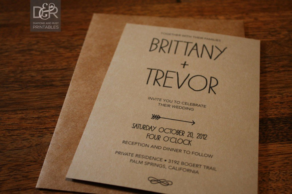 Rustic Wedding Invitation Templates Awesome Rustic Wedding Invitation Templates
