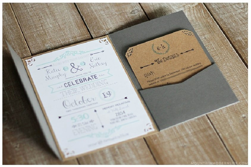 Rustic Wedding Invitations Template Luxury Free Wedding Invitation Template