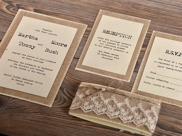 Rustic Wedding Invitations Template Unique 28 Rustic Wedding Invitation Design Templates Psd Ai
