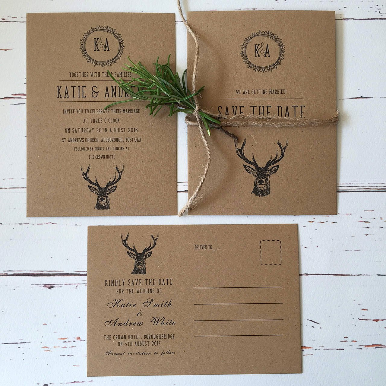 Rustic Wedding Invitations Template Unique Rustic Wedding Invitations and Stationery Wagtail Designs