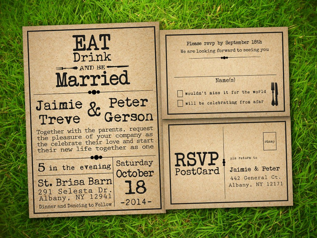 Rustic Wedding Invitations Templates New Vintage Bells and Co