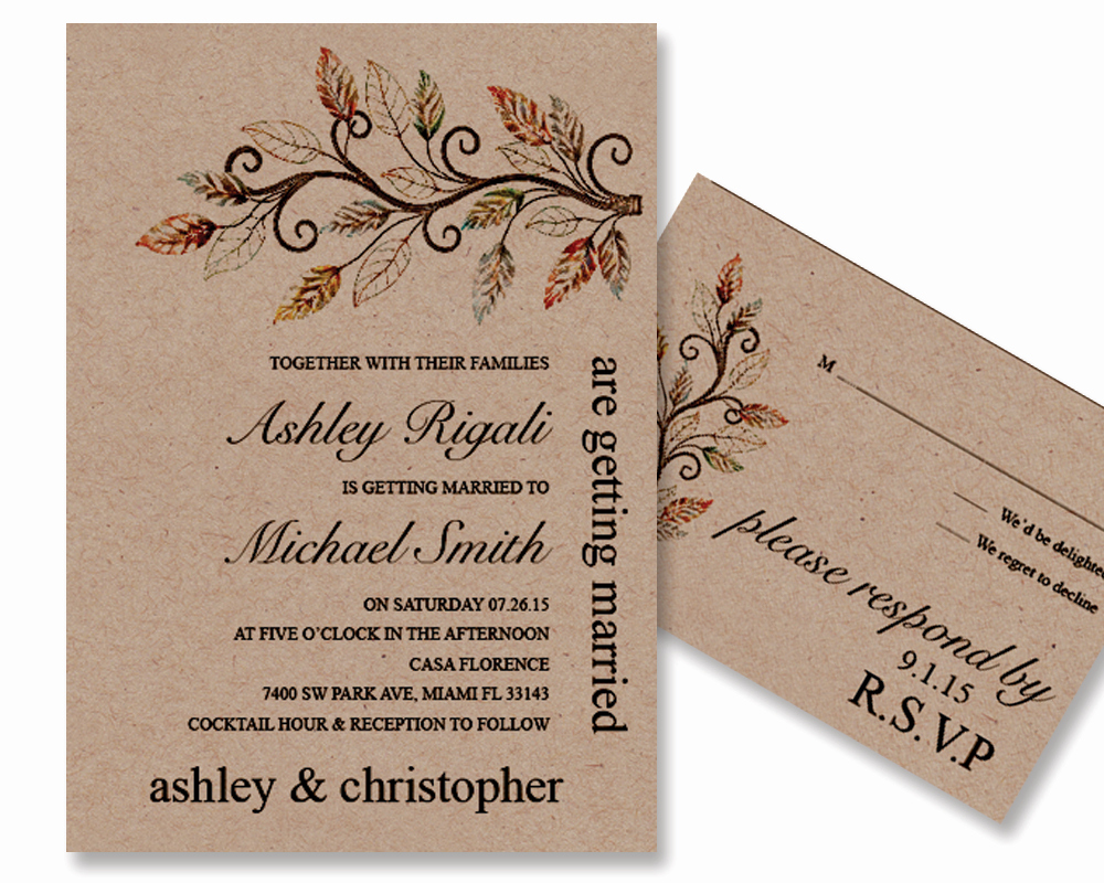 Rustic Wedding Invites Templates Best Of Rustic Wedding Invitation Template