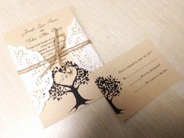 Rustic Wedding Invites Templates Inspirational Diy Rustic Wedding Invitations Template