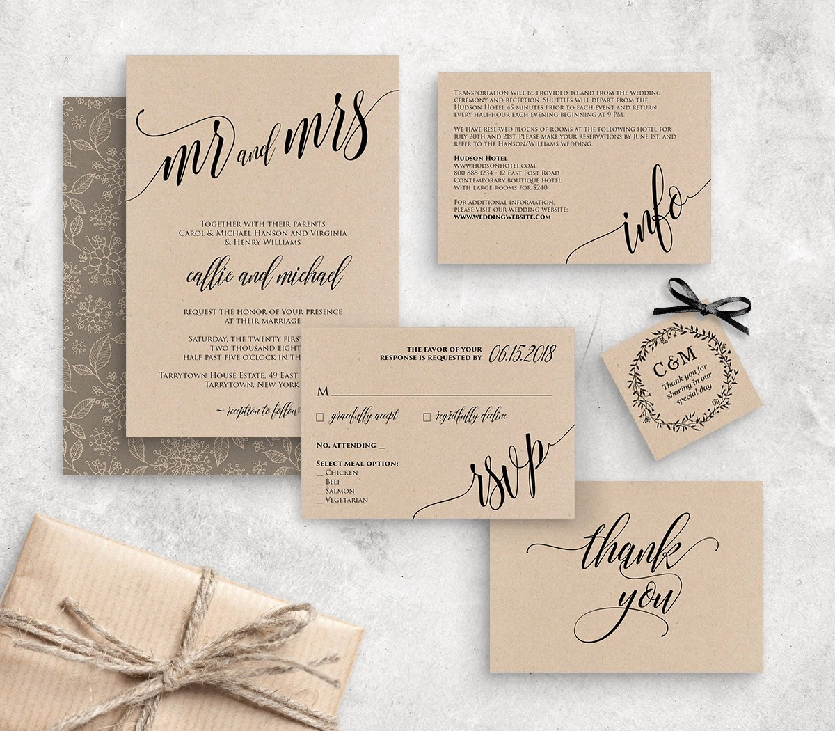 Rustic Wedding Invites Templates Luxury Wedding Invitation Template Instant Download Rustic Modern