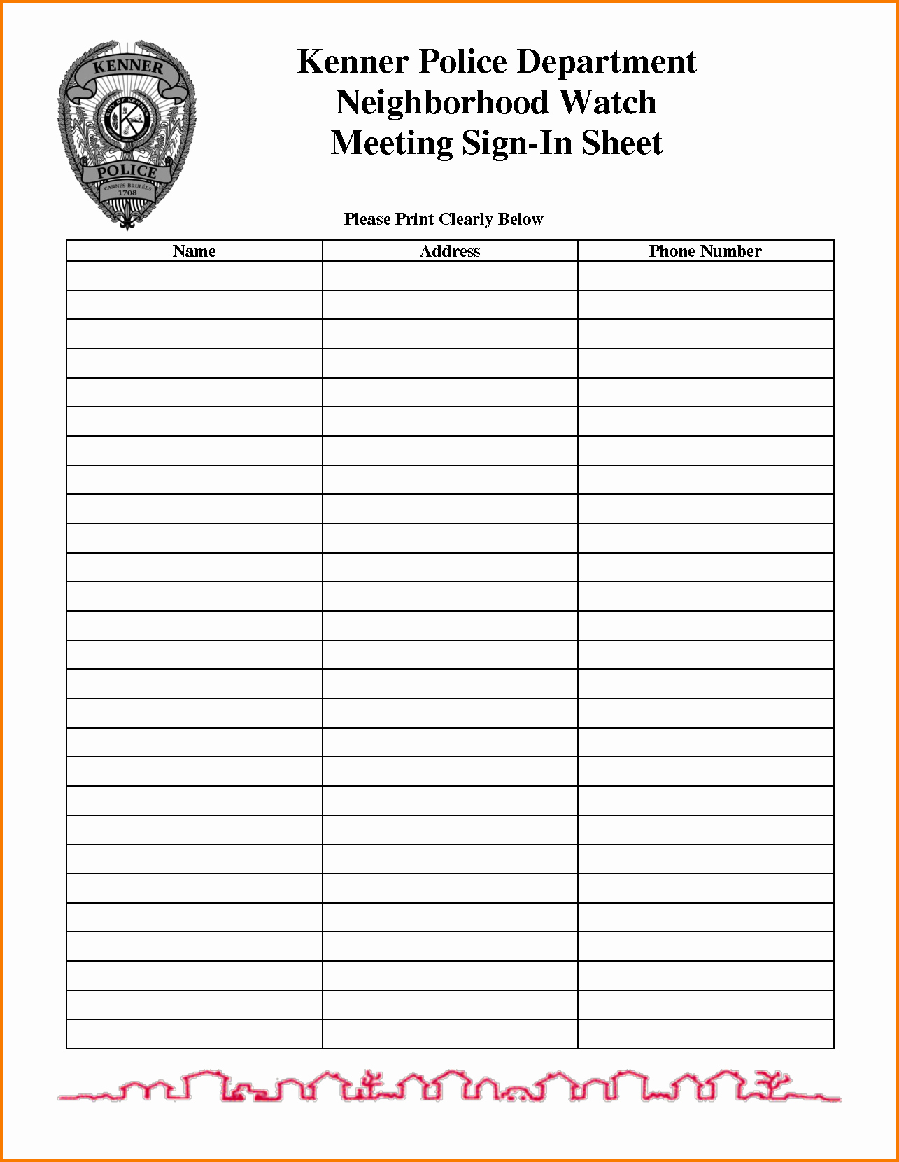 Safety Meeting Sign In Sheet Fresh Meeting Sign In Sheet Template
