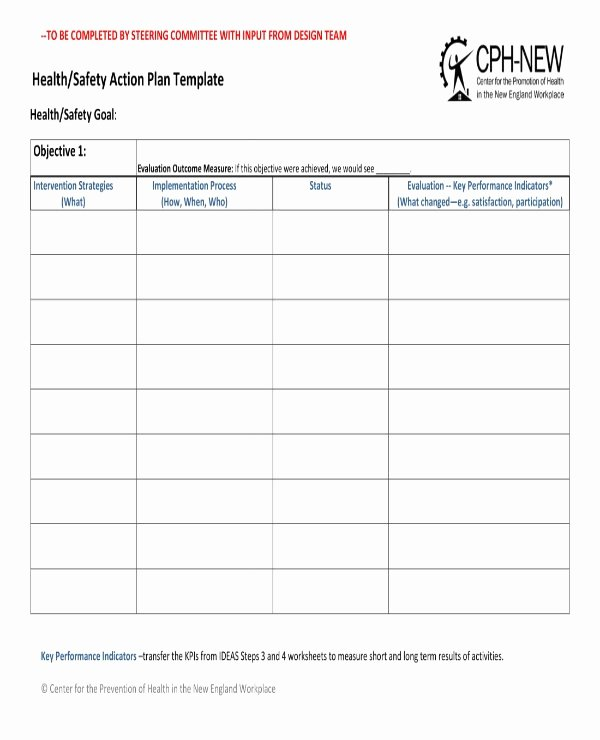 Safety Plan Template for Students Best Of 15 Health and Safety Action Plan Templates Pdf Google