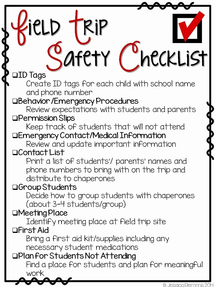 Safety Plan Template for Students Elegant Mrs Plemons Kindergarten Field Trip Planning Ideas