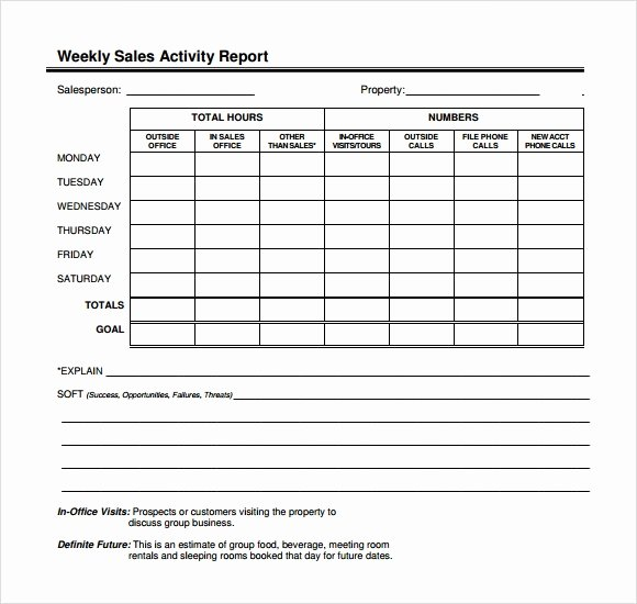 Sales Calls Report Template Best Of Sample Sales Call Report Sample – 12 Free Documents In
