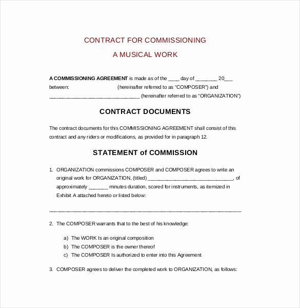 Sales Commission Agreement Pdf Beautiful 22 Mission Agreement Templates Word Pdf Pages