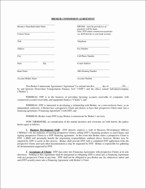 Sales Commission Agreement Pdf Inspirational 10 Sales Mission Agreement Samples & Templates Word Pdf Pages