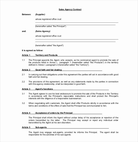 Sales Commission Agreement Template Luxury 22 Mission Agreement Templates Word Pdf Pages