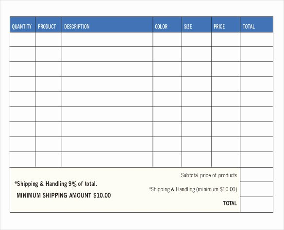 Sales order forms Templates Awesome 13 Sales order Templates Word Excel Google Docs